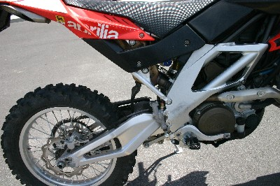 rxv frame and swingarm