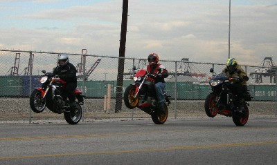 Three Wheelies